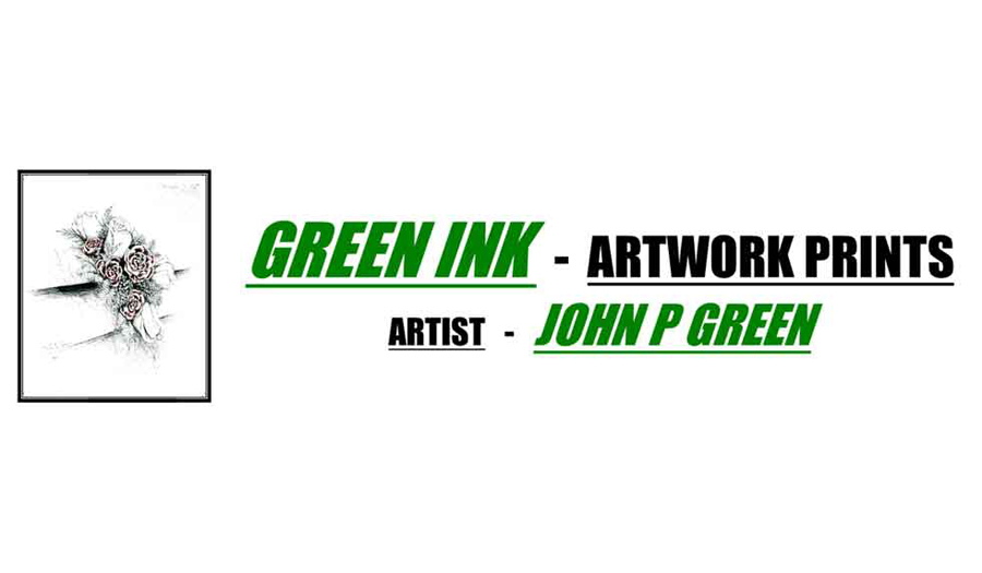 Click on the image for GREEN Ink Artwork Prints